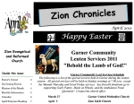 Zion Newsletter