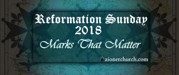 ReformationSunday2018