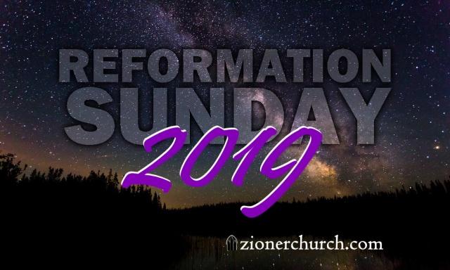 ReformationSunday2019